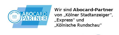 Wir sind Abocard Partner von Kölner Stadtanzeiger, Express und Kölnische Rundschau