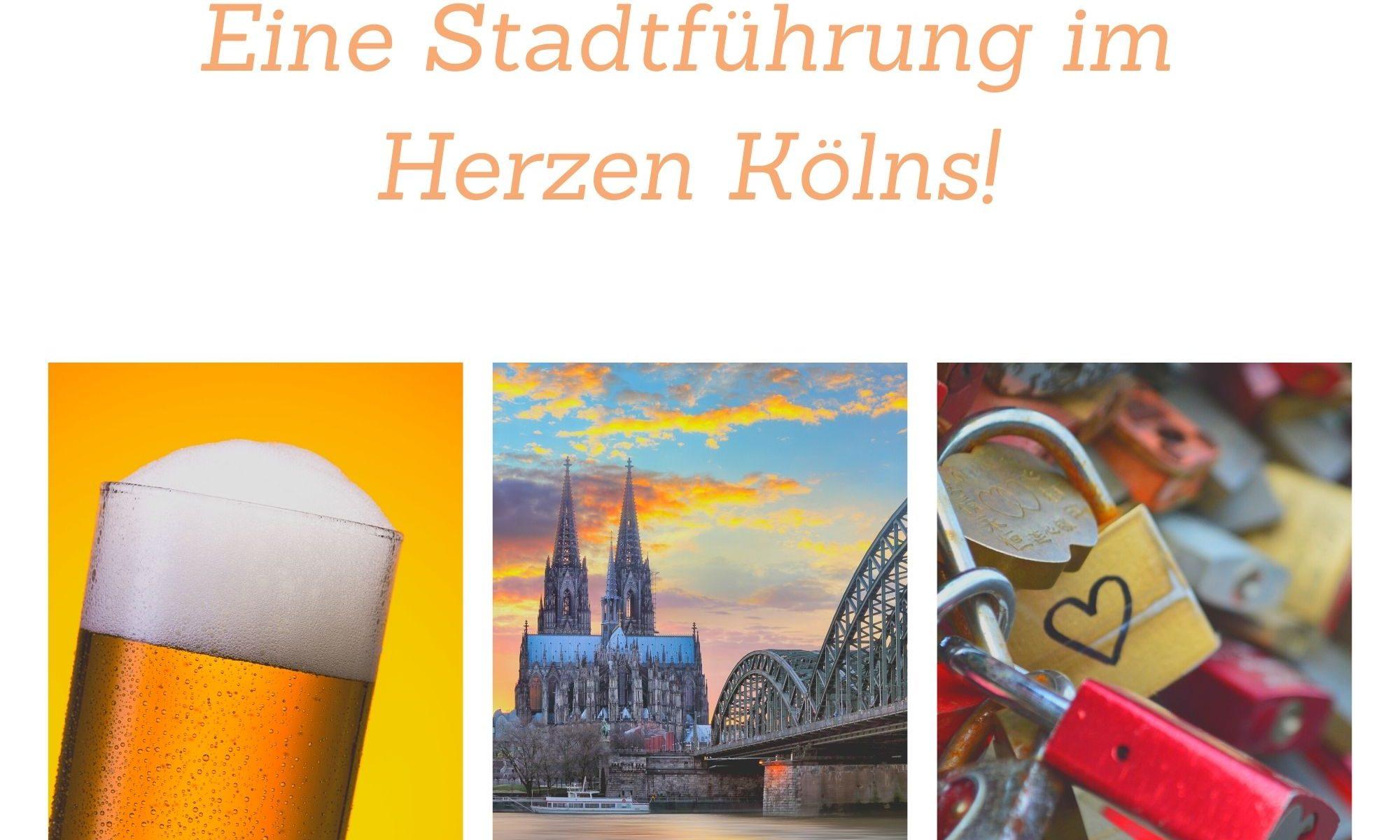 """Perfekt und exklusiv für Ihre Gruppe: """"Kölsch auf der Zunge"""" Brauhaustour Köln Eine Stadtführung im Herzen der Domstadt"""